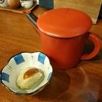 手打ちそば処小杉 - 蕎麦団子と蕎麦湯
