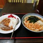 相州そば - 料理写真:ミニカレーセット