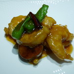 hoisam China TAKE - 海鮮料理 海老の甘酢とうがらし炒め