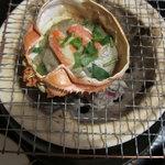 月亭 - 蟹甲羅焼き