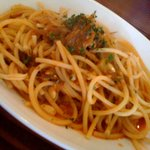 OSTERIA SAKAZUME - 鰯とういきょうのトマトソースパスタ