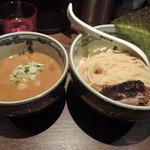 麺屋武蔵 神山 - 濃厚つけ麺(大)