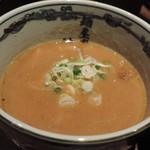 麺屋武蔵 神山 - 濃厚つけ麺のつけ汁