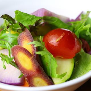 素材味が濃い!美味しい無農薬野菜で季節を楽しむ◎