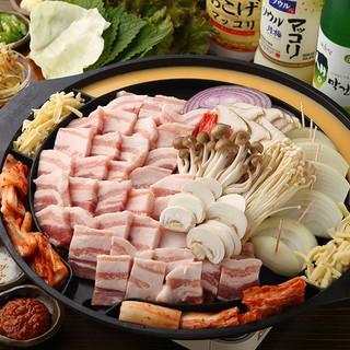 ★サンギョプサルセット*食べ放題*2H飲み放題/3000円