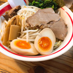 ラーメン寿や - 幸せいっぱいつけ麺 ¥1,090