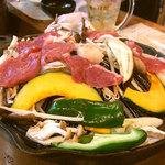 ジーコ - 上生ラム肉。120g、790円。