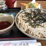 増田屋 - 料理写真:天ざる  1,050円