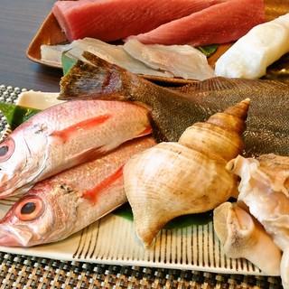 鮮度抜群の地魚