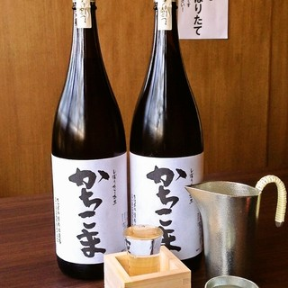 富山の地酒から日本全国から厳選した日本酒