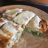 伊勢路 - 料理写真:私の大好きな、ネギ焼きのえび玉子、 しっかり味付けの醤油と塩味です。