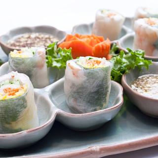 タイ料理で健康と美しさをチャージ