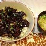 琉球の味 あちゃ家 - ラフティー丼