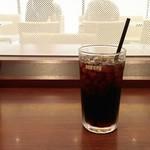ドトールコーヒーショップ - アイスコーヒーS。