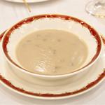 神戸ポートピアホテル - 牛蒡と玉葱のポタージュスープ