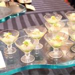 神戸ポートピアホテル - カクテル仕立ての前菜