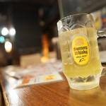 炭火居酒屋 炎 - シークワサハイボル