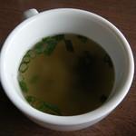 アン・シヤーリー・ハウス - 牛肉とガーリックのピラフ(スープ)