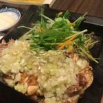 鶏鬨はなれ - 料理写真:鶏ももねぎまみれ定食