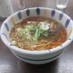 大谷製麺工場 - 山菜蕎麦 450円