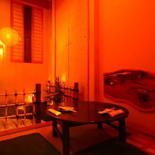 宴会コース2500円~個室もあるのでゆっくり楽しめる♪