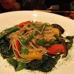 きまぐれDINING洋 - 彩り野菜ペペロンチーノ