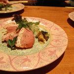 きまぐれDINING洋 - 鴨のスモーク 赤ワインベリーソース