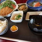 おゆき - 肉料理(とんかつ)定食 ¥780