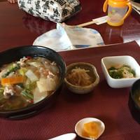 おゆき-豚肉と野菜の和風あんかけ¥600