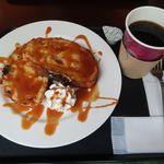 横濱菓楼 ハーバーズムーン - キャラメルフレンチトーストとコーヒー