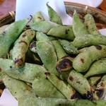 くしかんざし - 焼き枝豆