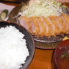 とんかつ一里塚 - 料理写真:ヒレカツ