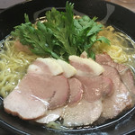 69018539 - 塩釜焼きチャーシュー塩らー麺