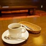 新和食料理・創作居酒屋 七つの月の夢 - 2017年4月 月の夢膳に付いてくる食後のコーヒー(紅茶もあり)