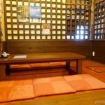 新和食料理・創作居酒屋 七つの月の夢 - 2017年4月 内装は前のお店の時と変わりないようです。
