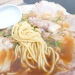 ○京 - 2017年4月 チャーシューメンの麺の具合