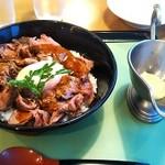 ロイヤルコーヒーショップ - ローストビーフ丼