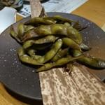 warayakiya - にんにく枝豆