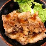 焼肉丼 たどん - カルビ丼ヾ(≧∇≦*)/