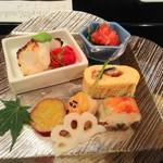 シェラトン都ホテル大阪 日本料理 うえまち - 焼物と旬の彩り