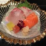 シェラトン都ホテル大阪 日本料理 うえまち - 造り(三種盛り合わせ)