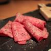 昇家 - 料理写真:特選ロースのわさび焼き☆