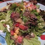 ナポリの食堂 アルバータ アルバータ - シェフの気まぐれ・季節野菜のロハスサラダ 880円