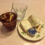 ゴルド カフェ - アイスレモンティー+Aセット ¥350-