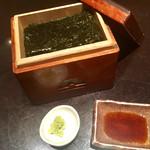 上野藪そば - 焼き海苔