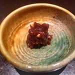 上野藪そば - 蕎麦味噌