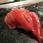 第三春美鮨 - シビマグロ 背 蛇腹 定置網漁 新潟県両津