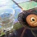 ヒロ コーヒーファーム - お茶とクッキー