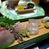 秋田須川温泉 栗駒山荘 - 料理写真:お造り