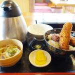 わだ泉 - 醤油カツ丼☆